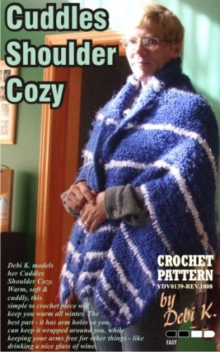 Cuddles Shoulder Cozy Crochet Pattern