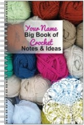 Personalized Crocheter's Notebook