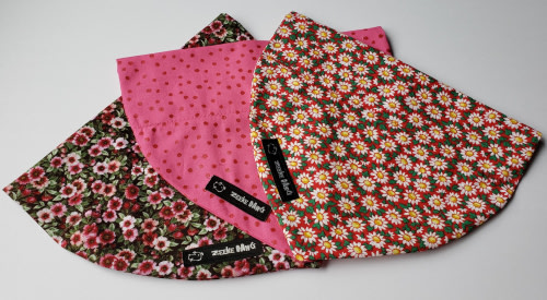 Zeeke Dog Bandana Three Pack