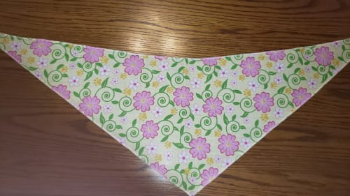 Tie-On Bandana Flowers