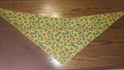 Tie-On Bandana Sunflowers
