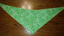Tie-On Bandana Green