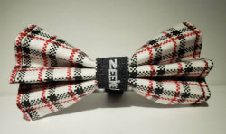 Checker Bow Tie