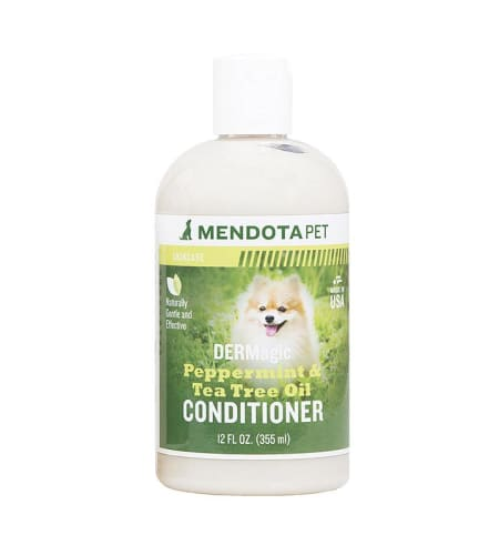 DERMagic Peppermint & Tea Tree Oil Conditioner - 12 oz bottle
