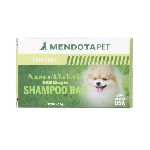 DERMagic Organic Shampoo Bar -Peppermint & Tea Tree Oil - 3.5 oz