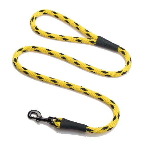 Black Ice Yellow Snap Leash