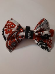 Red Flowers Bowtie