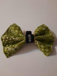 Green Paisley Bowtie
