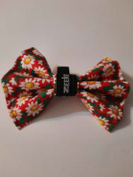 White Flowers Bowtie