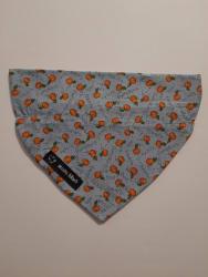 Dog Bandana Pumpkins Pumpkins Pumpkins (collar through)