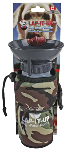 Lap-It-Up Dog Water Bottle - Camo