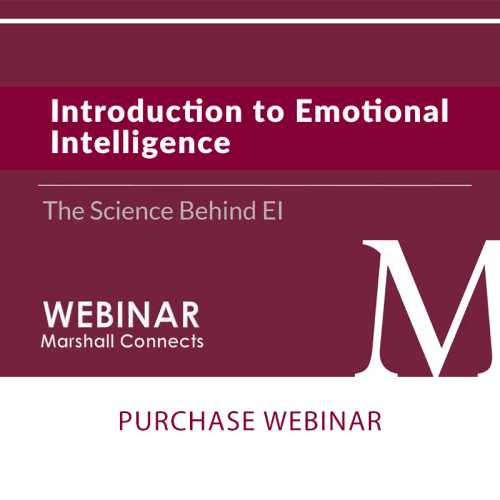 Webinar | Introduction to Emotional Intelligence