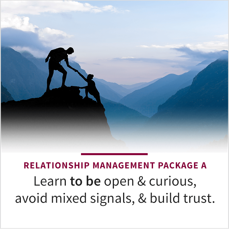 Relationship Management Podcast Package A