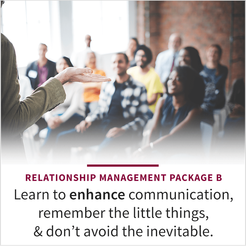 Relationship Management Podcast Package B