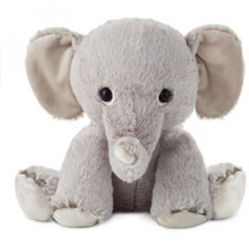 Animal Babies Elephant Plush
