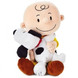 Charlie Brown and Snoopy Plush