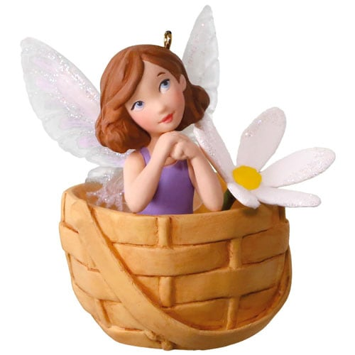 May Flowers - Friendly Fairies Series Ornament - SOLD OUT