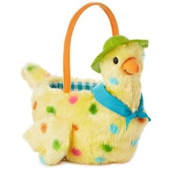 Mama Hen Plush Easter Basket