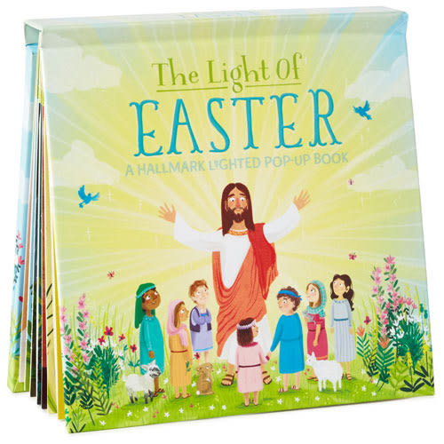 The Light of Easter Lighted Pop-Up Book