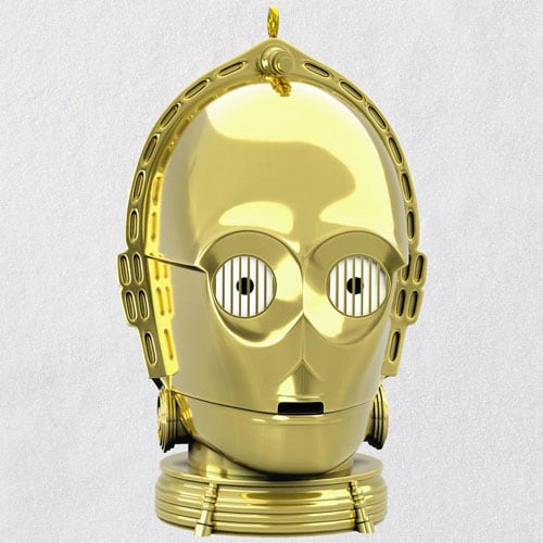 Star Wars™ C-3PO™ Ornament With Light and Sound