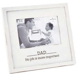 Dad - Most Important Job Frame