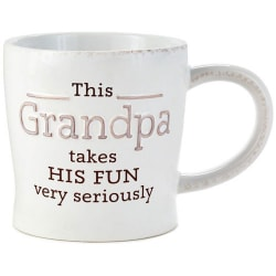 Grandpa -Takes His Fun Seriously Mug
