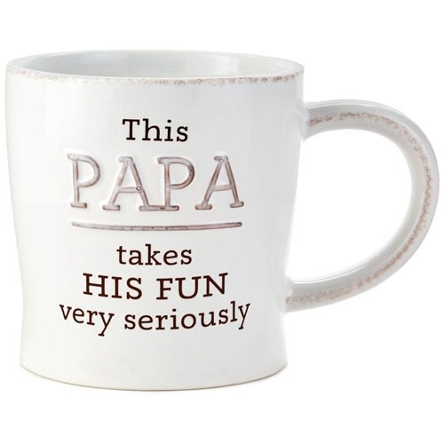 Papa -Takes His Fun Seriously Mug