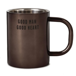 Good Man Good Heart Insulated Metal Mug