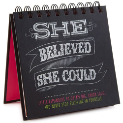 She Believed She Could Gift Book