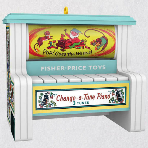 Fisher Price® Change-a-Tune Piano Musical Ornament