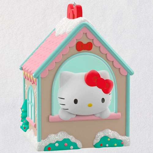 Hello Kitty® Gingerbread House Ornament