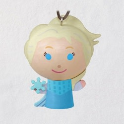 Disney Frozen Elsa Wood Ornament