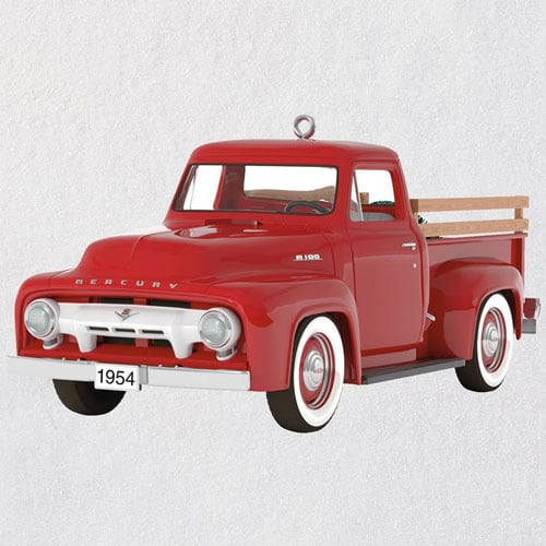 All-American Trucks 1954 Mercury M-100 Metal Ornament