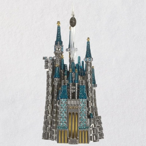 Disney Cinderella's Castle Metal Ornament