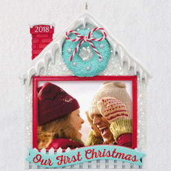 Our First Christmas 2018 Photo Ornament