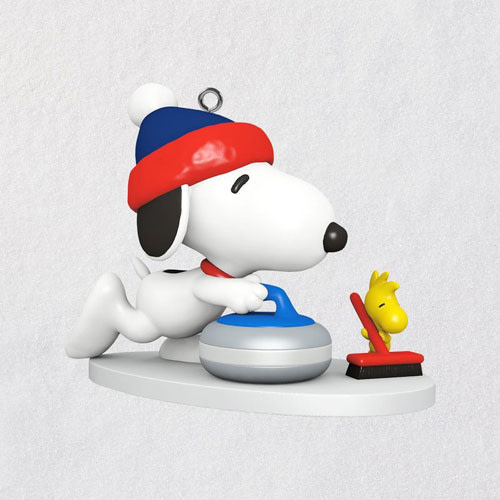 Mini Peanuts® Winter Fun With Snoopy Ornament