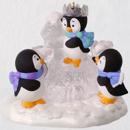 Ice Castle Antics Penguins Ornament