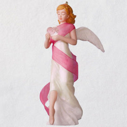 Angel of Courage Porcelain Ornament