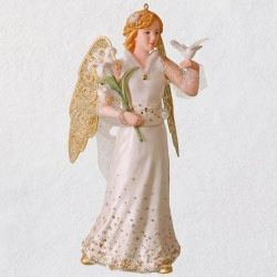 Christmas Angels Peace Ornament