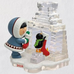 Frosty Friends Hanging Stockings Ornament