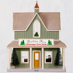 Festive Firs Christmas Tree Farm Ornament