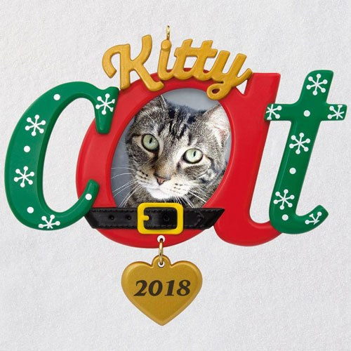 Kitty Cat 2018 Photo Ornament