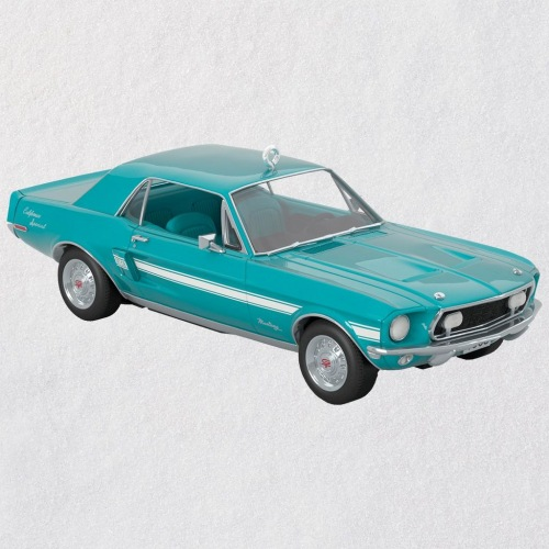 1968 Ford Mustang California 50th Anniversary Metal Ornament