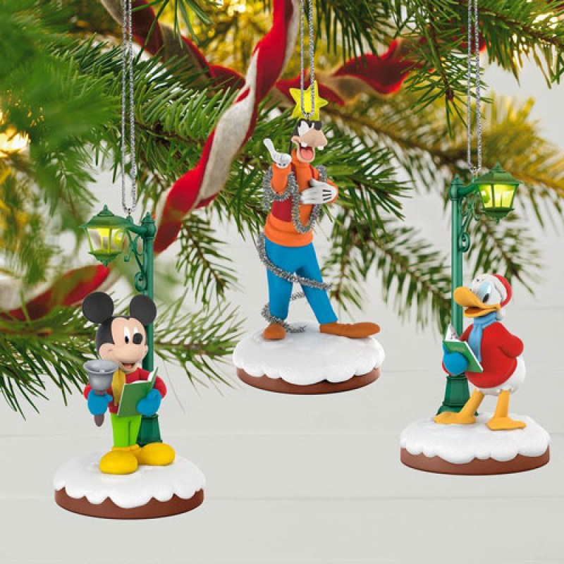 disney christmas carolers limited edition storytellers ornaments