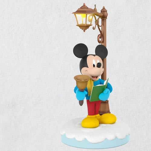 Disney Christmas Carolers Merry Mickey Musical Ornament