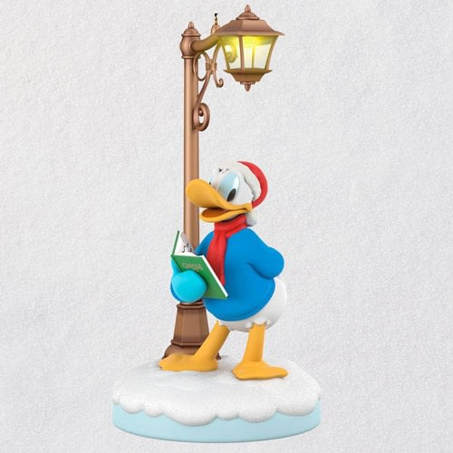 Disney Christmas Carolers Jolly Donald Musical Ornament