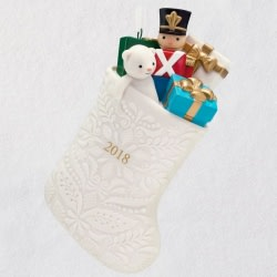 Filled With Fun! Stocking 2018 Ornament