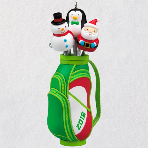 Ho-Ho-Hole in One 2018 Ornament