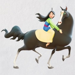 Disney Mulan A Girl's Best Friend Ornament