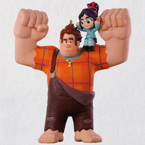 Disney Wreck-It Ralph 2 Ralph and Vanellope Ornament
